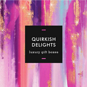 Quirkish Delights is all about sending beautifully presented, carefully selected gifts and hampers.